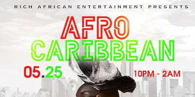 AFRO-CARIBBEAN POP-UP PARTY