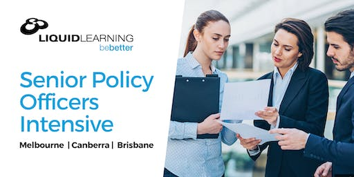 Senior Policy Officers Intensive
