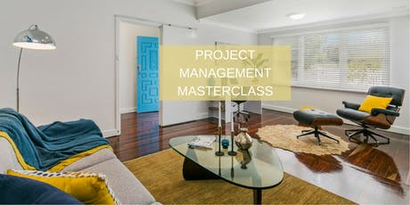 Project Management Masterclass tickets