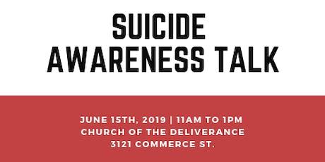 Suicide Awareness Talk tickets