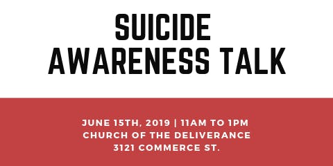Suicide Awareness Talk