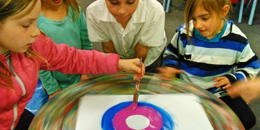 Children's Spin-Painting Workshop