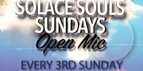 Solace Souls Sundays Open Mic tickets