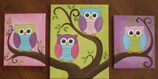 Royal Mommy & Me Paint Party