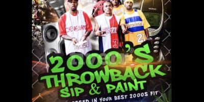 2000s Sip & Paint