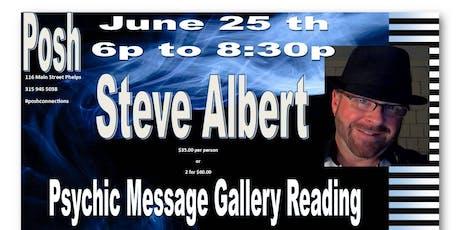 Steven Albert: Psychic Medium Gallery Event - 6/25 tickets