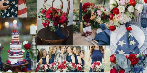 Red, White & Blue Styled Shoot