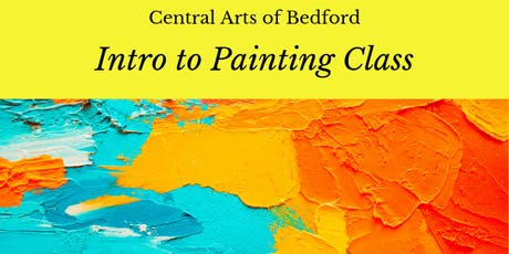 Intro To Painting Class tickets