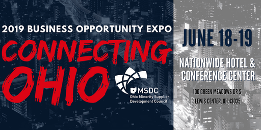 2019 Business Opportunity Expo: Connecting Ohio Volunteer Experience