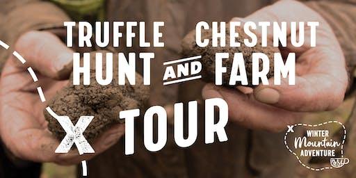 Truffle Hunt & Chestnut Farm Tour - Winter Mountain Adventure 2019