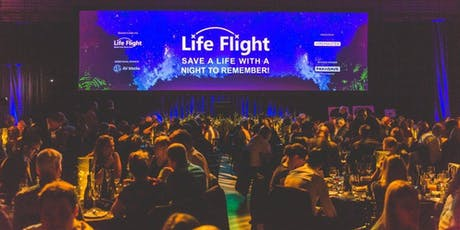 Life Flight Gala Dinner - presented by Hiremaster; table of 10 tickets