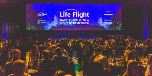 Life Flight Gala Dinner - presented by Hiremaster; table of 10
