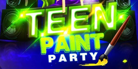Teen Paint Party tickets