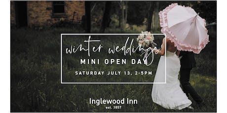 Winter Weddings Mini Open Day tickets