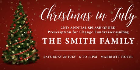 """Splash of Red"" PFC Fundraiser at the Marroitt Hotel Brisbane tickets"