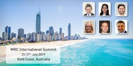 MRC International Summit 2019 tickets