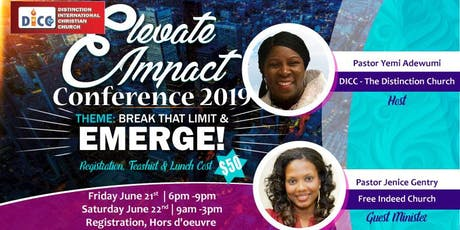 Elevate Impact Women Conference 2019 tickets