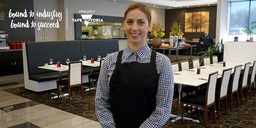 Info Session | FREE TAFE Hospitality & Cookery Courses