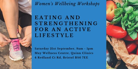 Women's Wellbeing - Eating and Strengthening for an Active Lifestyle tickets