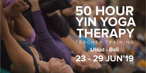50 HOUR YIN YOGA TEACHER TRAINING