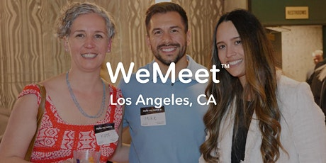 WeMeet Los Angeles Networking & Social Mixer tickets
