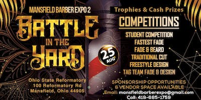 "Mansfield Barber Expo 2 ""Battle in the Yard"" Music Fest"