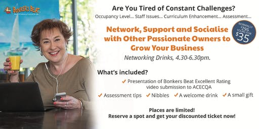 Network, Support and Socialise  with Other Passionate Owners to  Grow Your Business