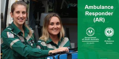 Ambulance Responder Course (Program 1 August 2019)