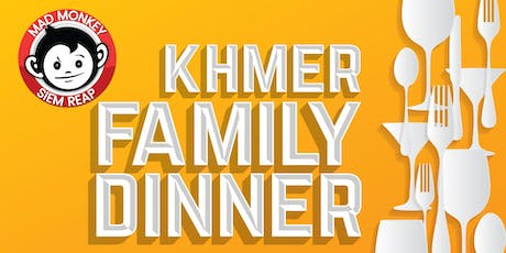 Khmer Family Dinner at Mad Monkey Siem Reap! tickets