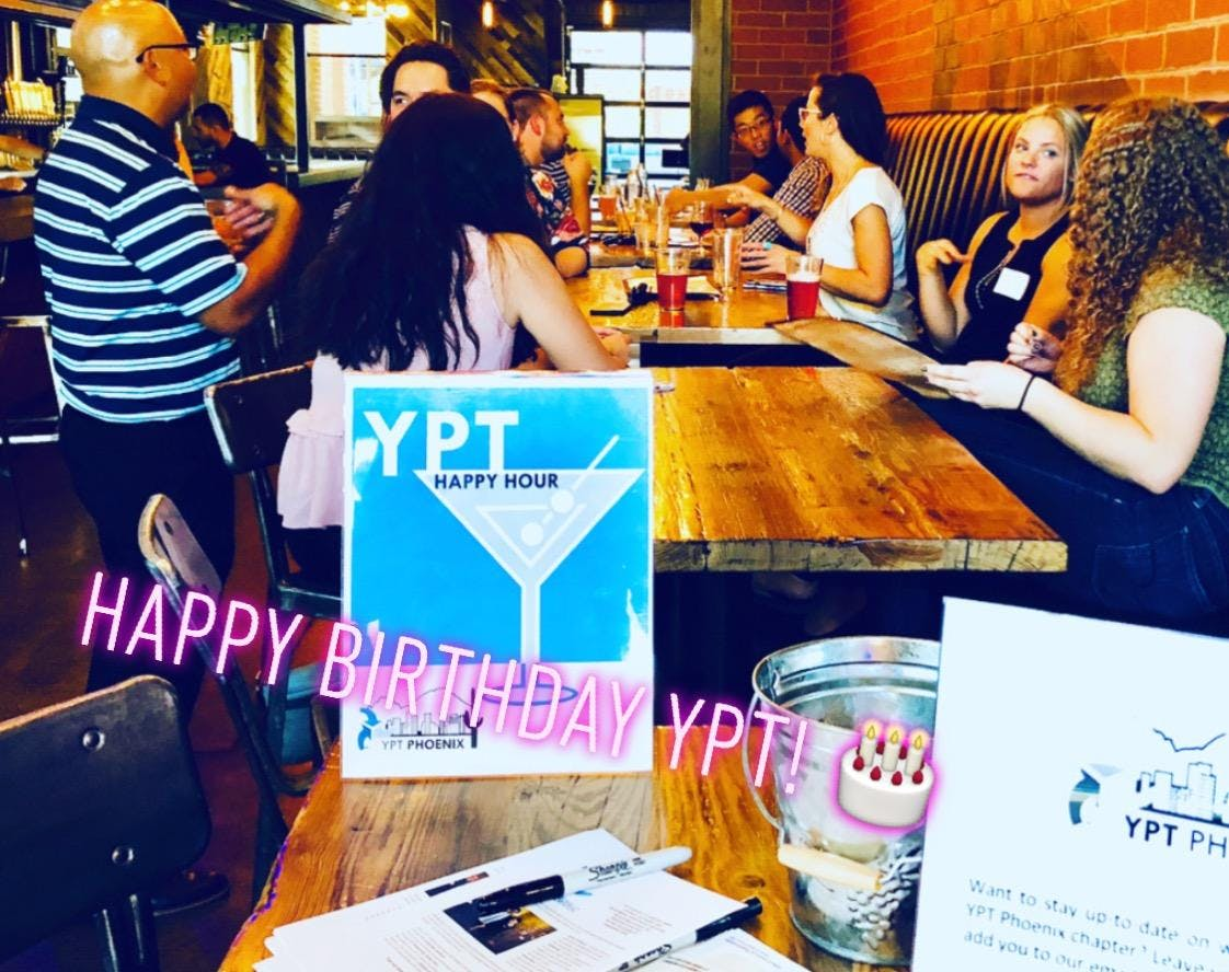 YPT Young Professionals in Transportation (YPT) Phoenix - May Happy Hour