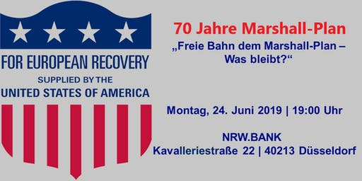 Freie Bahn dem Marshall-Plan – Was bleibt?