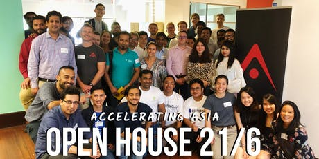 Accelerating Asia Open House 21 June tickets