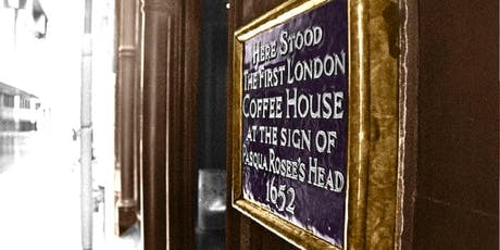 The history of London in five drinks: A walking tour with Dr Matthew Green tickets