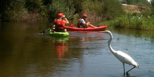 Los Angeles River Kayak Tours, 2019, Sepulveda Basin, SAT. and SUN.