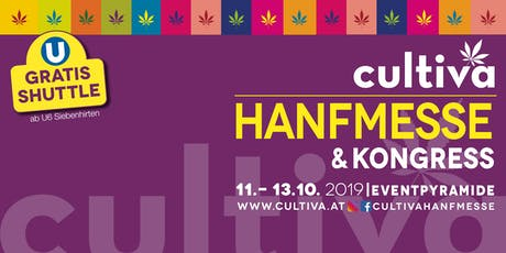 12. Cultiva Hanfmesse & Kongress 2019 tickets