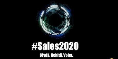 Sales 2020  - Modernin myyjän menestystekijät tickets