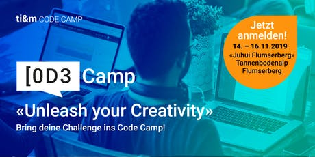 ti&m code camp – Unleash your Creativity Tickets