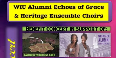 WIU Alumni Echoes of Grace and Heritage Ensemble Choirs Benefit Concert