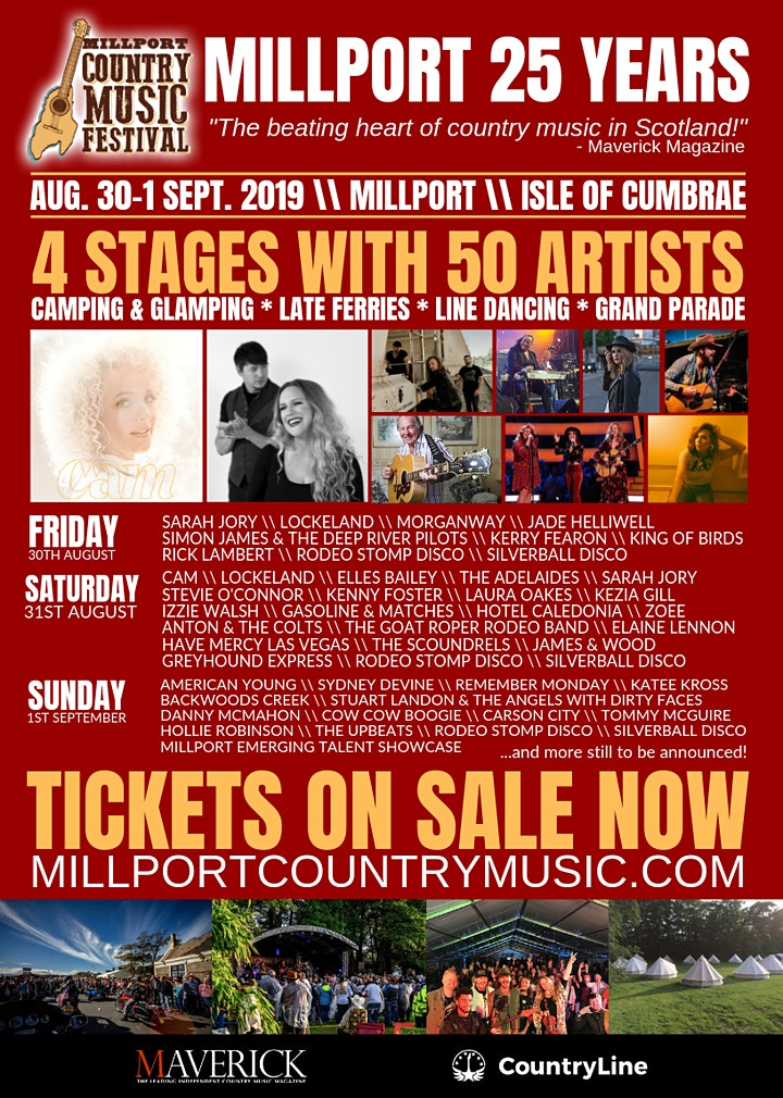 Millport Country Music Festival 2019 image
