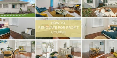 How to Renovate for Profit Course - Mandurah