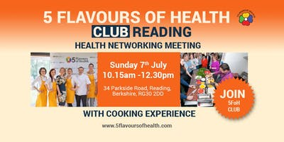 5 Flavours of Health Club READING Meeting