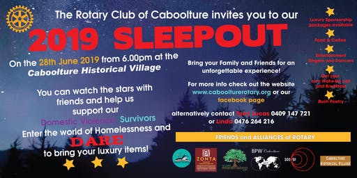 Rotary Club of Caboolture 2019 Sleepout
