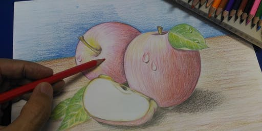 Simei: Coloured Pencil Drawing Course - Aug 21 - Oct 23 (Wed)