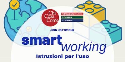 SmartWorking: Istruzioni per l'uso