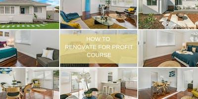 How to Renovate for Profit Course - Osborne Park