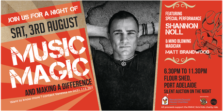A Night of Music, Magic and Making a Difference tickets