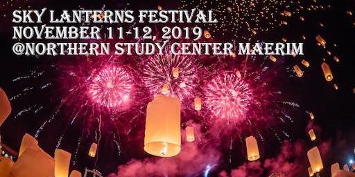 Lantern Festival @Northern Study Center Maerim, Chiangmai, Thailand (11-12 November 2019)
