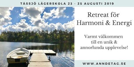 Retreat för Harmoni & Energi tickets