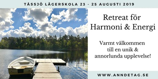 Retreat för Harmoni & Energi