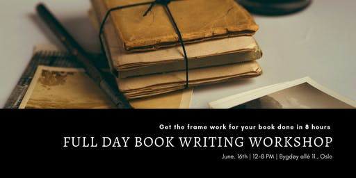 Full Day Book Writing Workshop